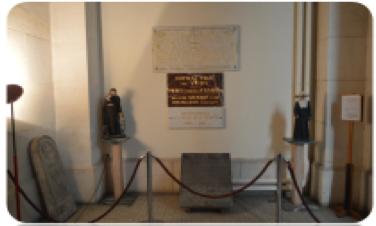À la chapelle du Centre Hospitalier de Vichy