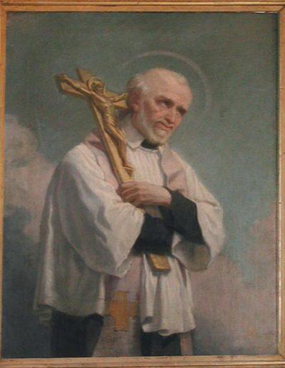 SVP Italy, Naples, Vincent de paul preaching, crucifix_JPG