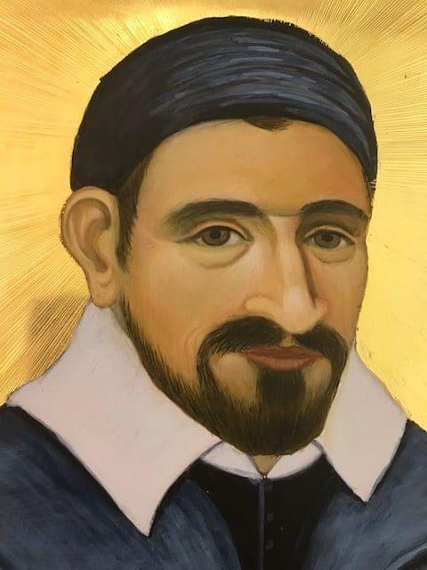 Vincent de Paul, jeune et rempli de zèle